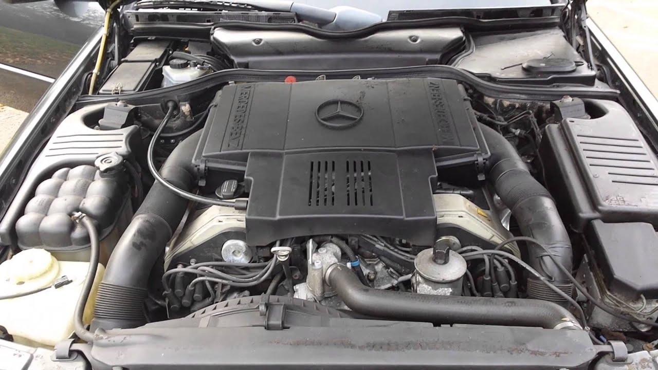 Mercedes benz v8 5 0 engine bay and start youtube for Mercedes benz v8 engine