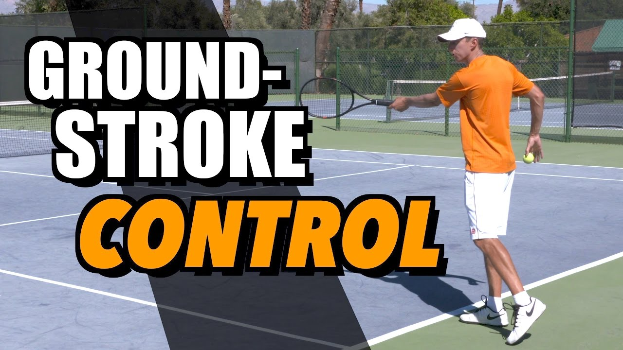 Tennis Singles Strategy - Groundstroke Control - How To