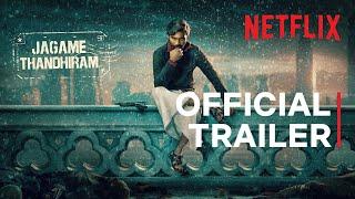 Jagame Thandhiram   Hindi Trailer   Dhanush, Aishwarya Lekshmi   Karthik Subbaraj   Netflix India