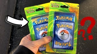 WHAT'S INSIDE THESE WEIRD POKEMON EX BLISTER PACKS!?