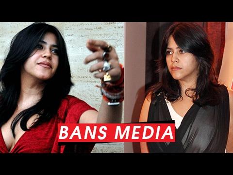 Ekta Kapoor BANS Media On The Sets Of Her Shows | SHOCKING!!