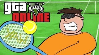 GTA 5 Online ★ ULTIMATE TENNIS MATCH (Dumb & Dumber)