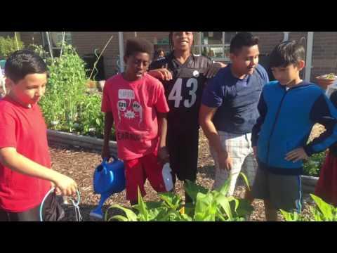 Garden Breakfast Club at Seatack Elementary An Achievable Dream Academy