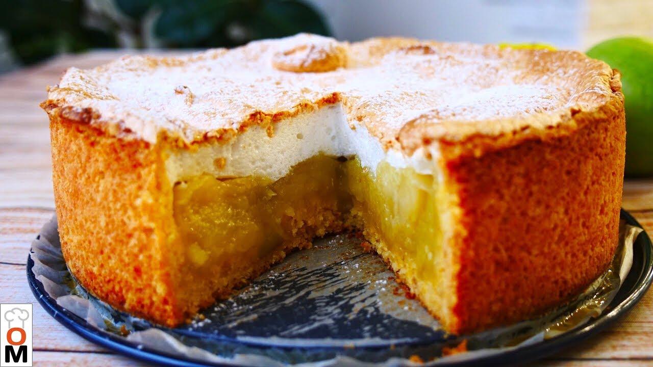 ПОТРЯСАЮЩИЙ Яблочный Пирог, Очень Лёгкий И Вкусный Рецепт | Ольга Матвей