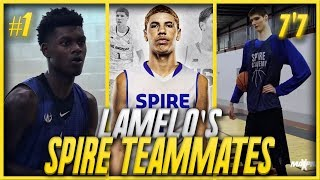 WHO Are LAMELO BALL'S NEW Teammates At SPIRE Academy?