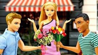 Двойное свидание Барби: Кен или Стивен? Видео для детей - Куклы Барби