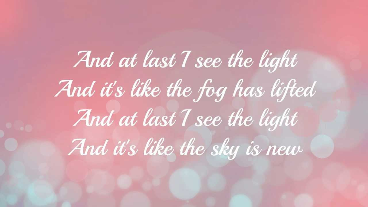Tangled I See The Light With Lyrics Hd Youtube