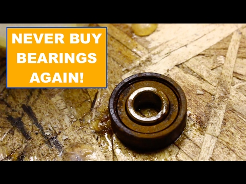 How To Clean Your Bearings For Beginners!