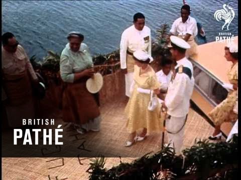 The Royal Tour - Fiji And Tonga - Reel 2 Part 3 (1954)