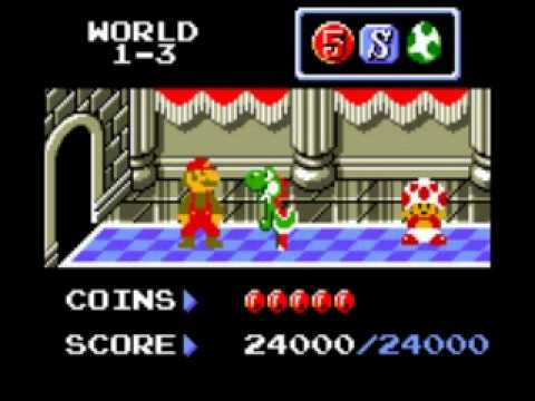 Super Mario Brothers Deluxe Game