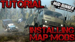 SpinTires: MudRunner | Tutorial | Installing Map Mods