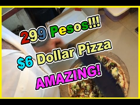 $6 Pizza in the Philippines - Villagio's Pizza Tagbilaran, Bohol Philippines - Tagbilaran city pizza