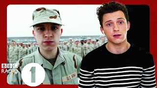 """""""Joe & Anthony, this is stupid!"""": Tom Holland on the Russo Brothers making him robot dance in Cherry"""