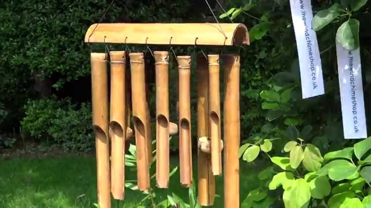serengeti bamboo wind chime youtube