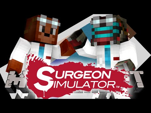 DOKTOŘI Z MINECRAFTU! - Minecraft Puzzle Map: Surgeon Simulator!