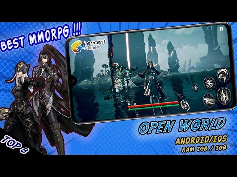 8 Game MMORPG OPEN WORLD !! RAM 1 GB / 2 GB (ANDROID / IOS)