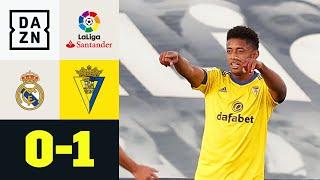Lozano wird zum Real-Schreck: Real Madrid - Cadiz CF 0:1 | LaLiga | DAZN Highlights