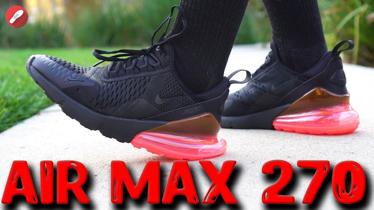 25d41cdf9b87 Nike Air Max 270 Review! Is It Comfortable   - YouTube