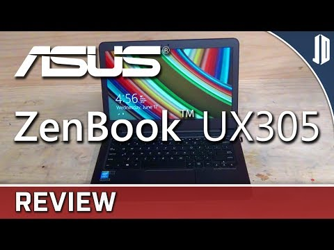 ASUS ZenBook UX305FA Notebook In Depth Review + Gaming Benchmarks [CC]