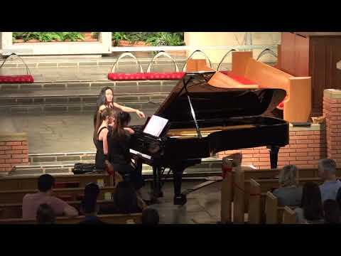 California School of Art Spring Piano Recital (Duet Part)