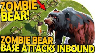 ZOMBIE BEAR + ZOMBIE BEAR BASE ATTACKS INBOUND - Last Day On Earth Survival 1.6.8 Update