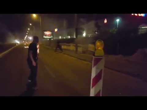 Dresden riots: Protesters in Germany attack refugee buses shouting 'foreigners out'. 22 August 2015