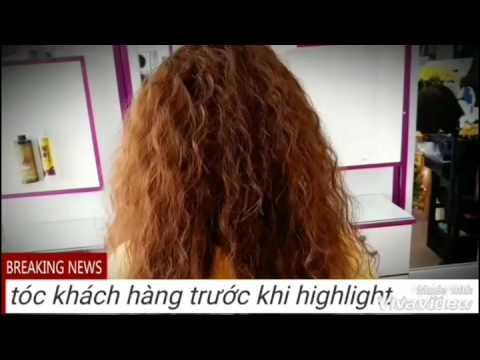 Nhuộm Highlight đẹp   Tổng hợp các thông tin liên quan đến màu tóc highlight đẹp 2018 mới cập nhật