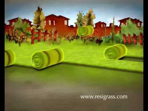 resigrass pro kunstgras gazon synth tique kunstrasen. Black Bedroom Furniture Sets. Home Design Ideas