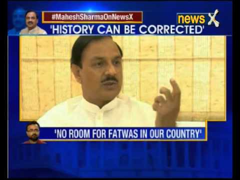NewsX exclusive interview with BJP leader Mahesh Sharma