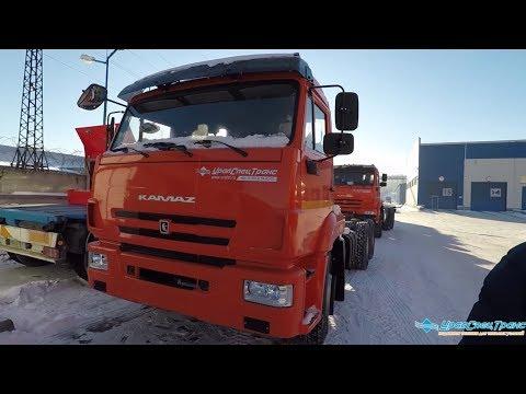 ПРО усиление рамы Камаз 65115 6x4 и МАН 26.400 6x4.