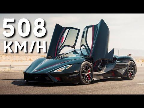 O atual carro de PRODUÇÃO mais RÁPIDO do mundo: SSC Tuatara faz 532 km/h, mas recorde é de 508 km/h