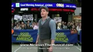 "Newsies - ""Seize the Day/Santa Fe"" Good Morning America"