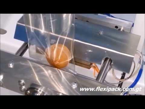 Empacadora para pan, 01 caída, Flexor, Flexipack