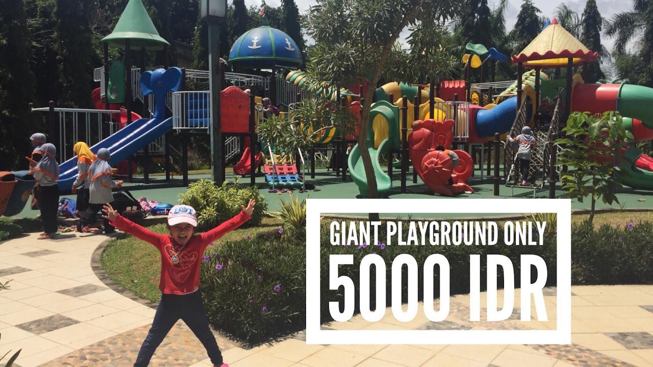 Giant Playground Wisata Seru Murah Meriah Buat Anak Anak Di Tangerang Selatan