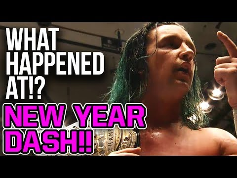 WHAT HAPPENED AT: NJPW NEW YEAR DASH!! 2019