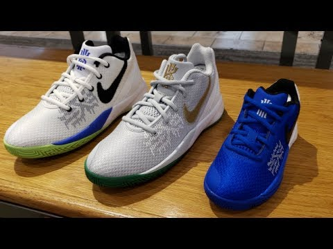 2d6a4280d566 5 COLORWAYS OF NIKE KYRIE FLYTRAP 2 SNEAKERS AT FINISHLINE - YouTube