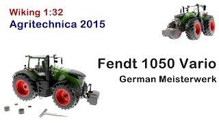 Wiking - Fendt Vario 1050 German Meisterwerk Agritechnica 2015