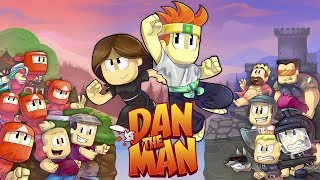 Dan The Man - Trouble in the Old Town! Gameplay Walkthrough (iOS, Android)