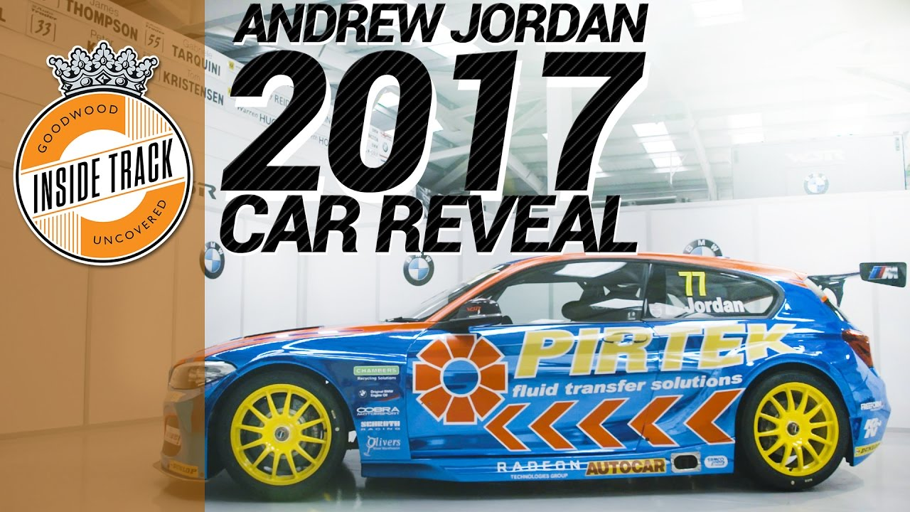 Exclusive Andrew Jordan S 2017 Btcc Bmw 1 Series Revealed Youtube