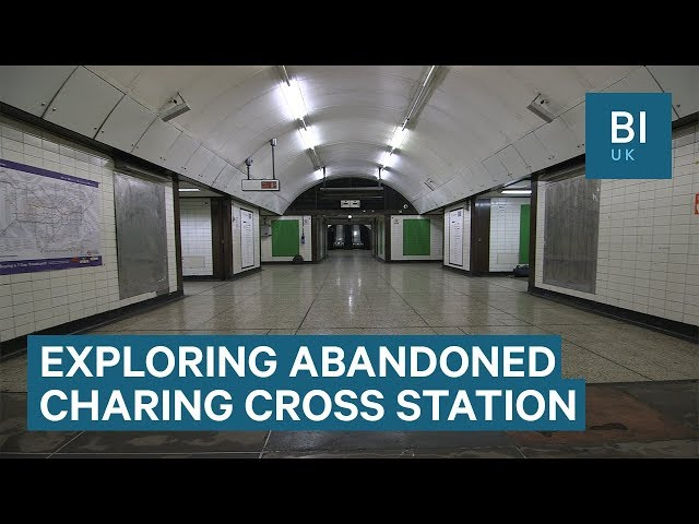 Inside The Abandoned Part Of Londons Charing Cross Underground Station