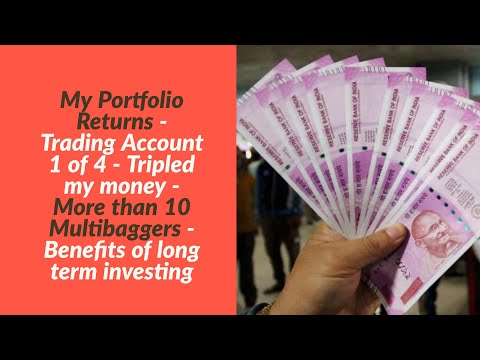 My Portfolio Return | More than 10 Multibaggers -Tripled my money | Benefits of Long Term Investing
