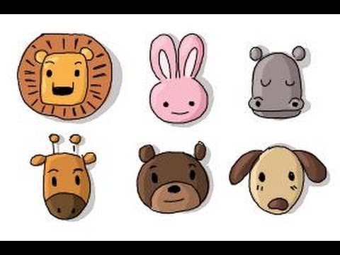 how to draw animals for kids youtube - Animal Pictures For Kids To Draw
