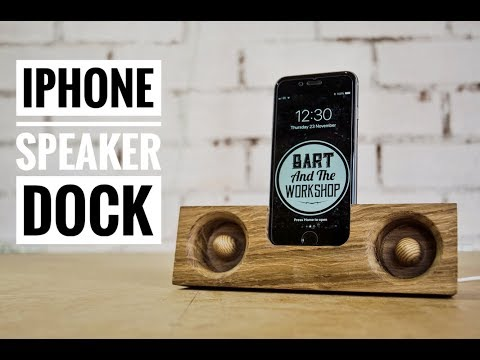 DIY Iphone Speaker Dock (TUTORIAL)