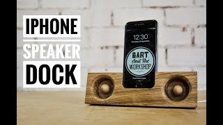 DIY Iphone speaker dock (TUTORIAL)