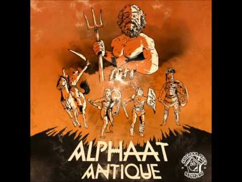 Alphaat - Attila - Antique EP (Southern Fried Records)