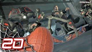 The Amazing Spider-Man (PC) walkthrough part 20 (Oscorp Robotic Facility 1/2)