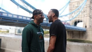 SLIM VS FOUSEY CONFRONTATION FACE TO FACE