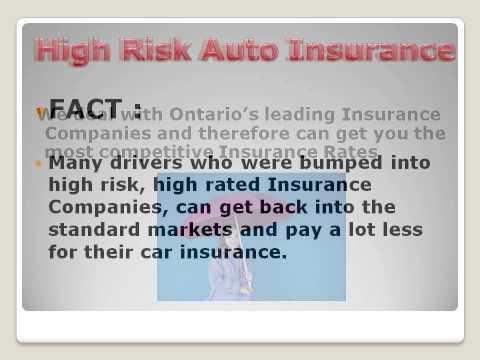 Cheap High Risk Auto Insurance Toronto - Toronto Insurance Solutions