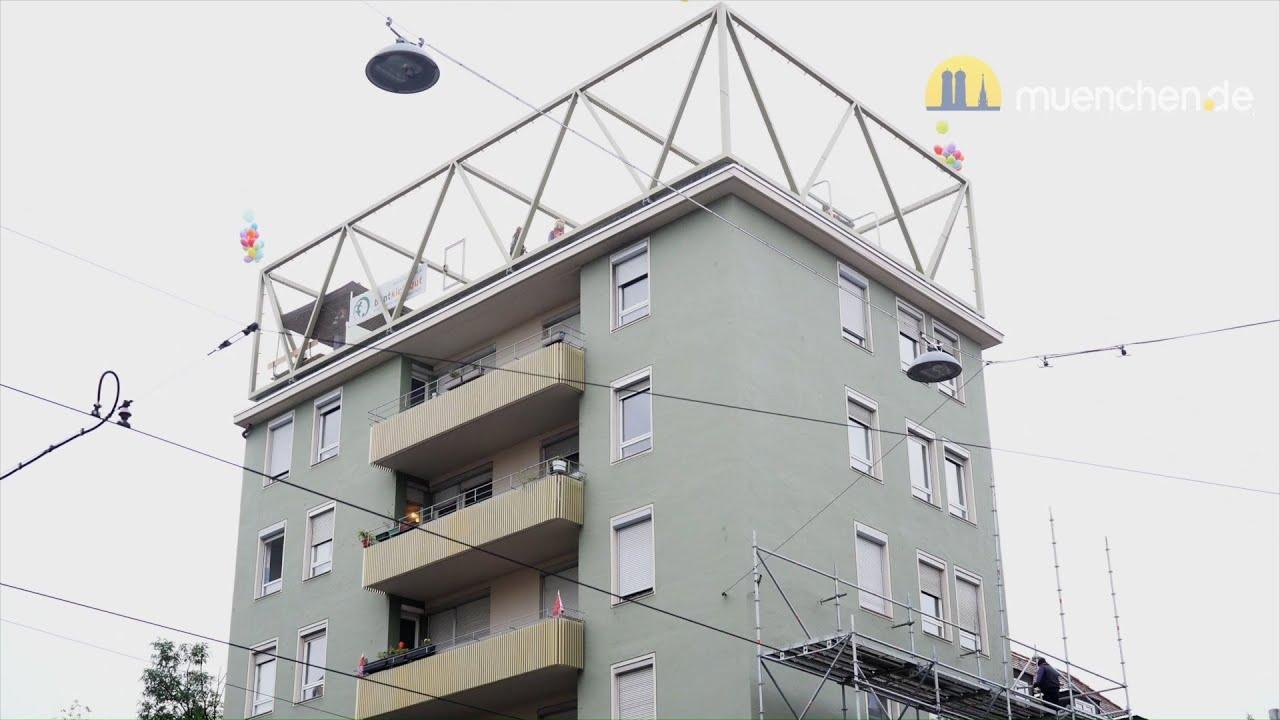 Dachsportplatz auf Bellevue di Monaco eröffnet