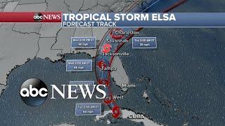 Tropical Storm Elsa nears south Florida l WNT